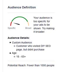 set up retargeting audience